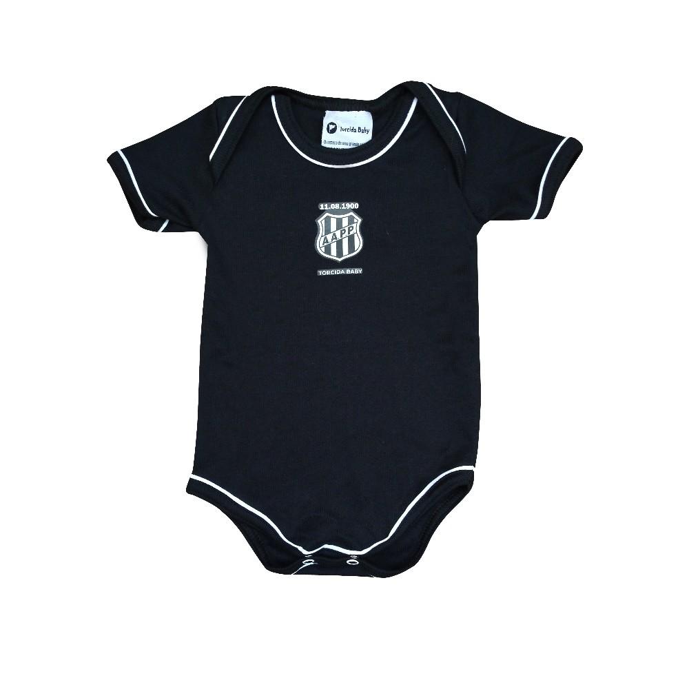 Body Bebê Ponte Preta Faixa