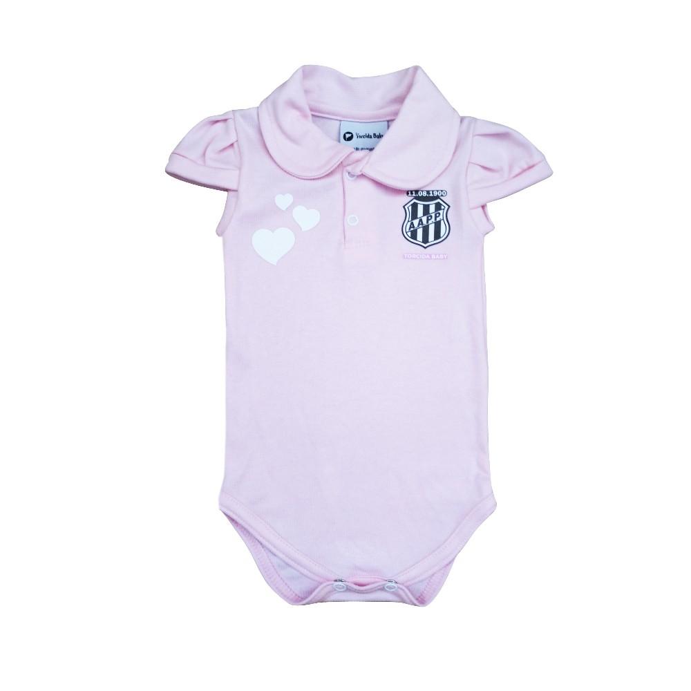 Body Bebê Ponte Preta Polo