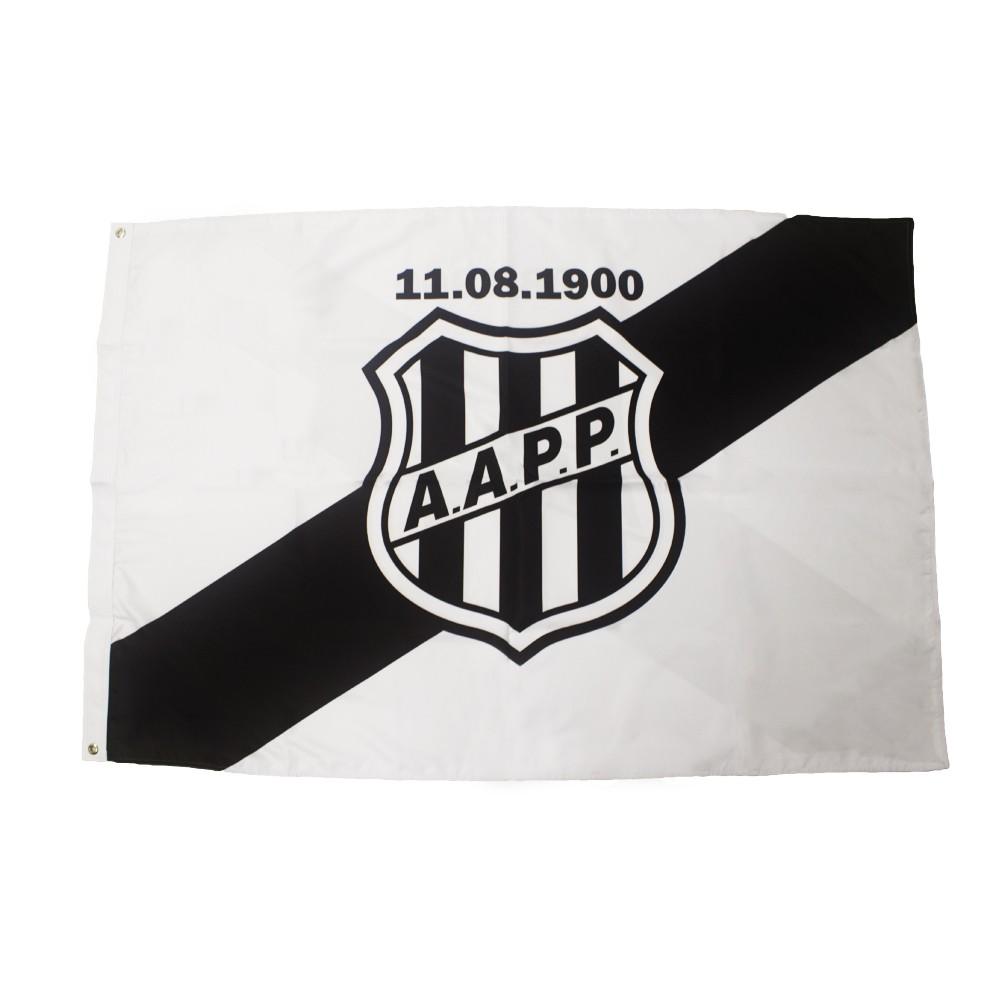 Bandeira Ponte Preta Oficial 0,90M X 1,30M