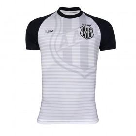 Camiseta Ponte Preta Escudo Branca - Licenciada 11.08