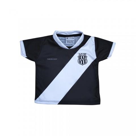 Camiseta Bebê Ponte Preta Sublimada